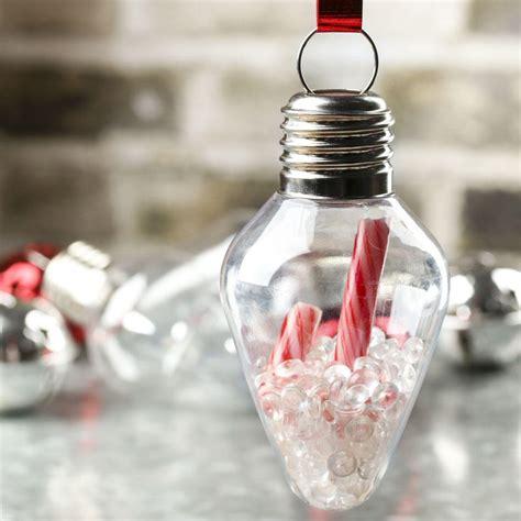 bulb ornaments acrylic fillable light bulb ornament acrylic fillable