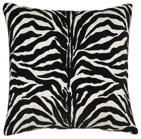 Outdoor Zebra Cushions Black And White Zebra Stripe Pillow Outdoor Cushions And