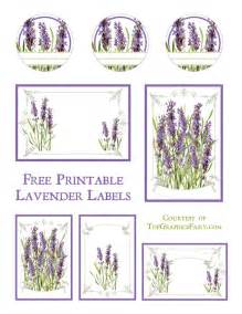 Christmas Crafts Templates Free - lavender labels printable the graphics fairy
