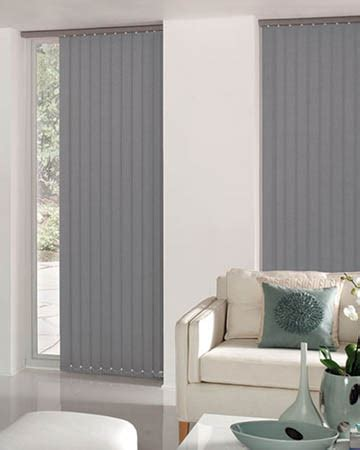 Cheapest Blinds UK Ltd   Dark Grey Vertical Blinds