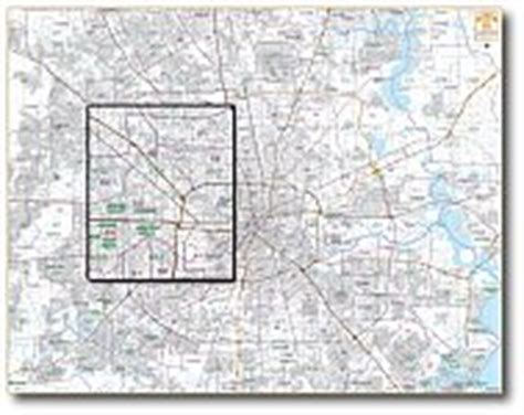 houston key map numbers houston wall maps