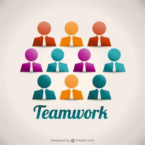 Teamwork Avatars Vector Free Download Free Teamwork Images