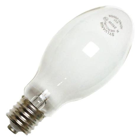 sylvania 69448 h37kc 250 dx mercury vapor light bulb