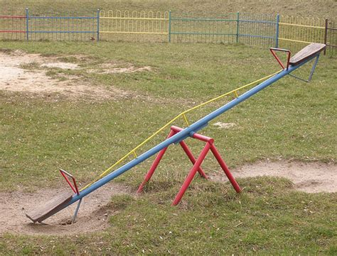 seesaw swing free stock photos rgbstock free stock images seesaw