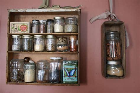Hanging Spice Shelf Vintage Drawer Diy Spice Rack Hanging Storage Vintage