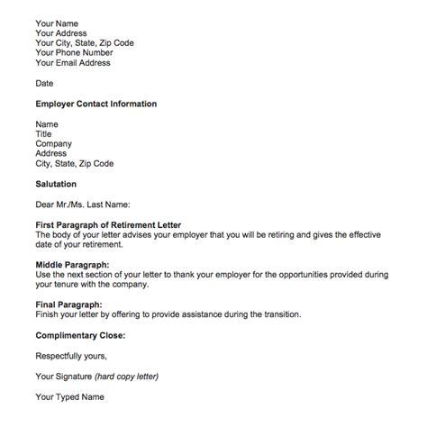 retirement letter samples retiring top form
