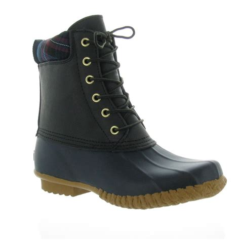 womans duck boots hilfiger s russel duck boot rainboots