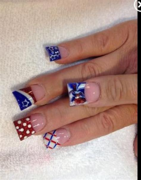 memorial day nail art images  pinterest