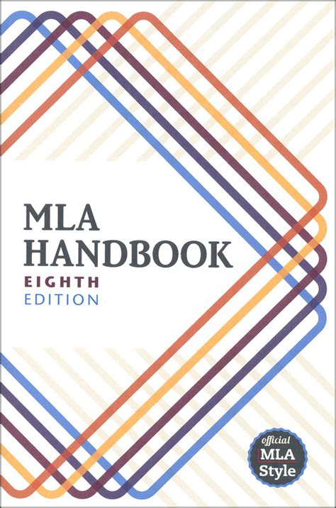 mla handbook for writers of research paper mla handbook for writers of research papers 8th edition