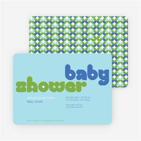 Baby Shower Paper by Boy Baby Shower Invitations Paper Culture