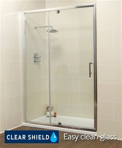 1100 Shower Door Pivot Doors Kyra Range 1100 Pivot Inline Shower Enclosure