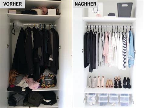 kleiderschrank organisieren ordnung im kleiderschrank 5 tipps f 252 r mehr ordnung