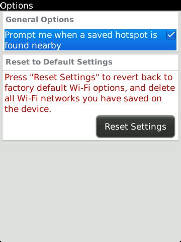 reset blackberry wifi settings blackberry first steps how to setup wi fi on os6