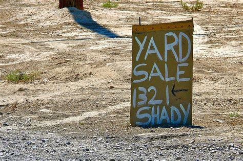 Yard Sale Vs Garage Sale by Bhg Style Spotters
