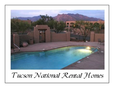 tucson national rental homes
