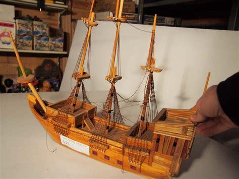 wooden boat auction folk art wooden boat bodnarus auctioneering