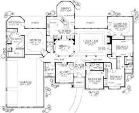 floor plan 3000 sq ft house pin by michaela knight on ranch style pinterest