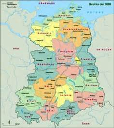Map Of East Germany by Former East Germany Map
