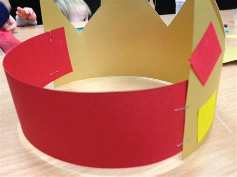 craft of crown king crown toddler preschool craft king s crown