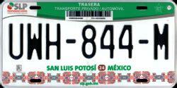 costo de placas en san luis potosi 2016 mexico license plates moini net