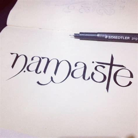 image gallery namaste font