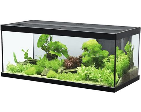 Lu Led Aquascape aquarium aquatlantis style led 100x40 cm sans sous meuble
