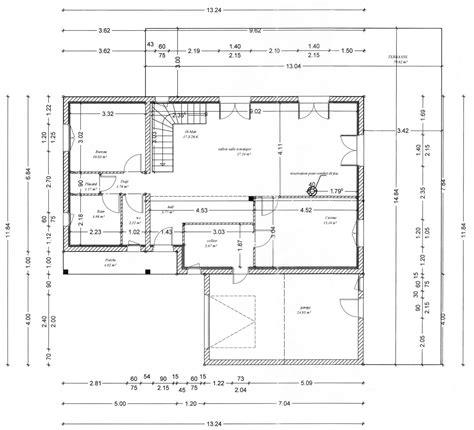 plan pavillon 100m2 plan maison 100m2 a etage 6 plan maison avec cotes evtod