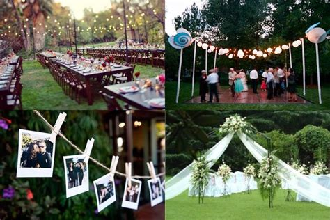 unique backyard wedding ideas 23 backyard wedding decorations tropicaltanning info