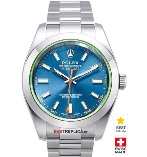 Rolex Milgauss Blue rolex replica milgauss blue bestreplica sr