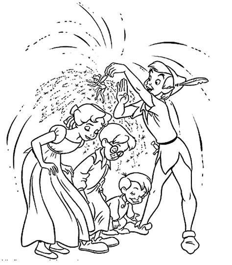 peter pan coloring pages coloring pages of peter pan