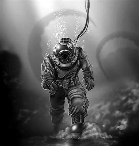 deep sea diver ideas  pinterest diving suit