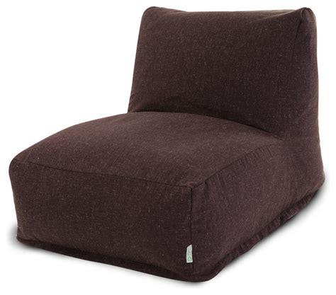 bean bag lounge chair indoor chocolate wales bean bag chair lounger