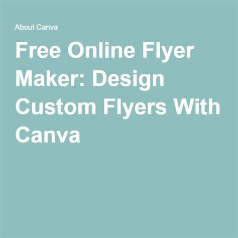 Free Custom Flyer Maker