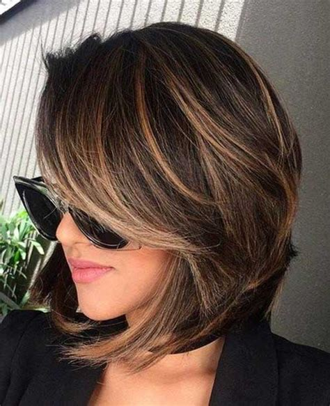 change bob hairstyle 15 best short layered haircuts short layered haircuts