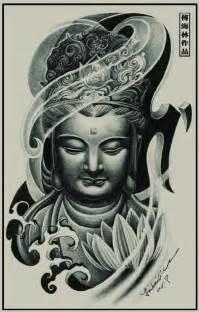 tibetan tattoo tatouage tibetain bouddha femme modele avec fleur de lotus tatouage femme