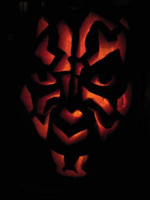 darth maul template 187 darth maul pumpkin patterns