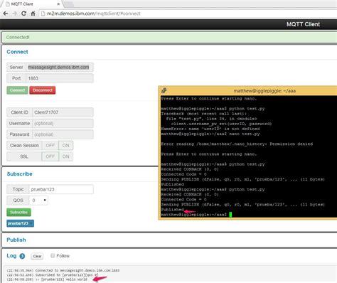 python mysql client tutorial using mqtt paho for python in a raspberry pi