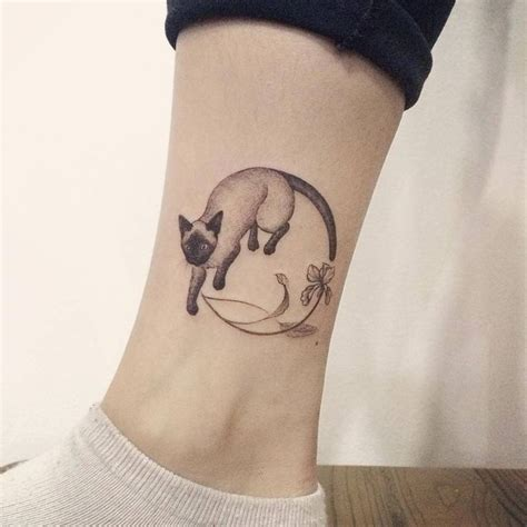 tattoo cat facebook 309 best images about ankle tattoos on pinterest ram