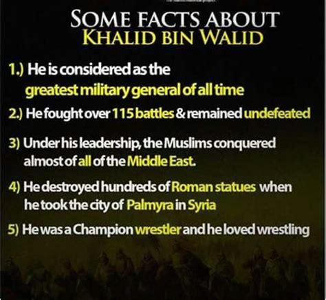 biography of khalid bin walid khalid bin waleed ra sahaba pinterest