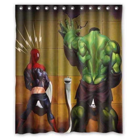 hulk curtains custom unique design cartoon superhero hulk waterproof