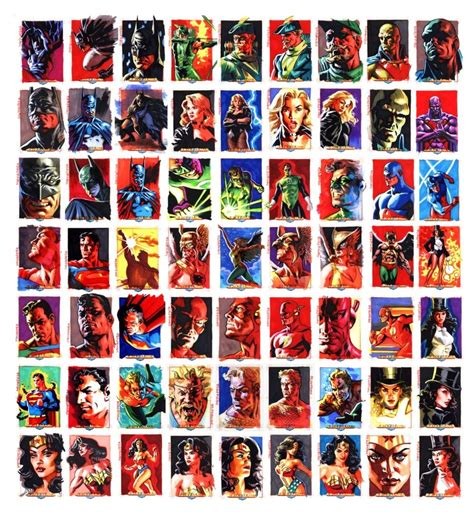 Where Can I Get A Justice Gift Card - justice league sketchcards by felipemassafera on deviantart