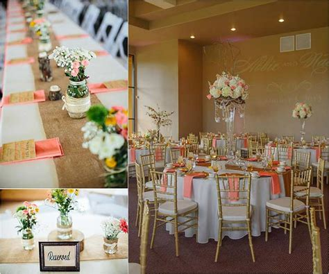 10 cheerful coral wedding decorations that are for your wedding