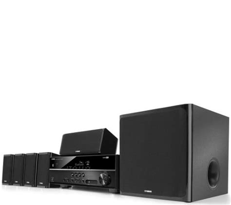 yamaha 5 1 channel 4k ultra hd home theater system qvc