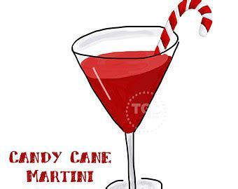 christmas martini clip cfire and marshmallow clip art watercolor clip art