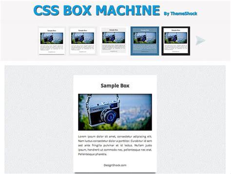 Boxed Layout Css Wordpress | css box machine best web design tools