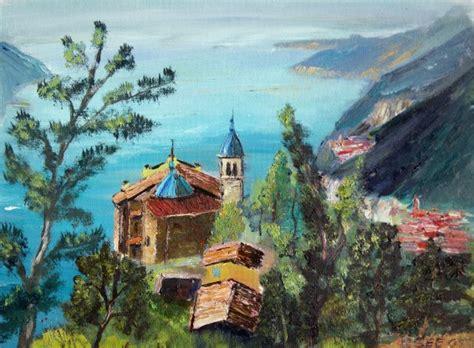 festival painting lago di garda high above lake garda oldesio tignale christian seebauer