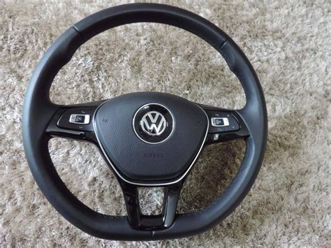 volante golf volante multifuncional vw air bag novo golf mk7 jetta fox