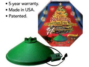 hms e z rotating artificial christmas tree stand revolving