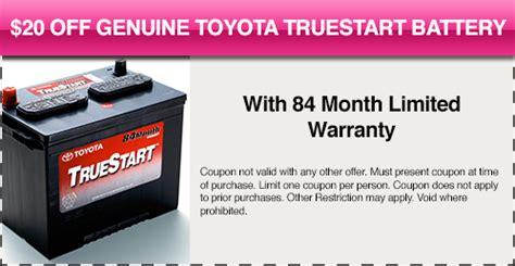 Toyota Truestart Battery Auto Service Specials Corpus Christi Toyota Of