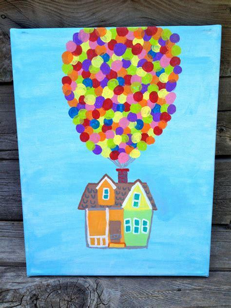 disney pixar up painting